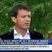 Marseille : Manuel Valls