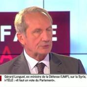 Gérard Longuet plaide pour une Syrie