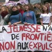 Leonarda : manifestation lycéenne à Paris pour son retour en France