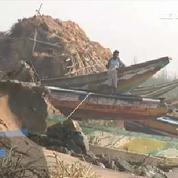 D'importants dégâts après le passage d'un cyclone en Inde
