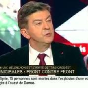Mélenchon traite Pierre Laurent de