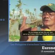 Les Philippins s'arrachent une aide humanitaire insuffisante