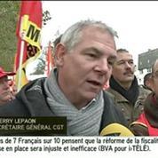 Le Paon (CGT) :