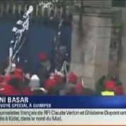 Quimper : premiers incidents en marge de la manifestation