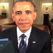 Quand Obama félicite