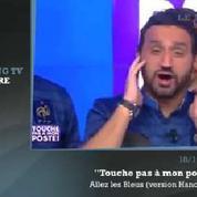 Zapping TV : l'hymne de Cyril Hanouna pour encourager les Bleus face à l'Ukraine