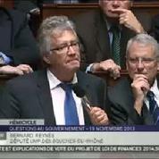 Le député Bernard Reynès revient à l'Assemblée après son agression
