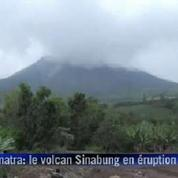 Indonésie : violentes explosions du volcan Sinabung