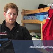 Le prince Harry s'entraîne en Antarctique pour une course humanitaire