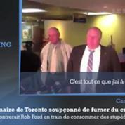 Le maire de Toronto accusé de fumer du crack