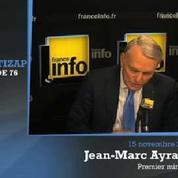 Remaniement : «Je ne m'intéresse pas à ces manoeuvres» (Ayrault)