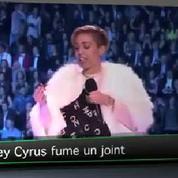 Top Média : Miley Cyrus fume un joint sur scène