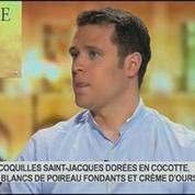 Les fêtes chez les disciples de Ducasse: entrées, plats, vins, dans Goûts de luxe Paris 2/8