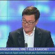 Angela Merkel vire-t-elle à gauche?, dans Les décodeurs de l'éco 1/5