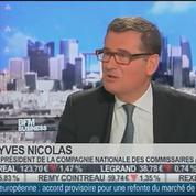 Yves Nicolas, Compagnie Nationale des Commissaires aux Comptes, dans L'Invité de BFM Business –