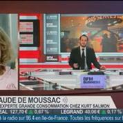 Aude de Moussac, experte grande consommation du cabinet Kurt Salmon, dans Le Grand Journal 4/4