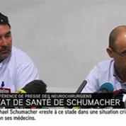 Schumacher : le pronostic vital est engagé