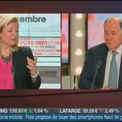 Georges Pauget, ancien directeur général du Crédit Agricole et président d'Économie Finance et Stratégie, dans Le Grand Journal 2/4