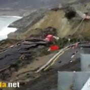 Images impressionnantes de l'effondrement d'une autoroute au Mexique