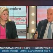 Georges Pauget, ancien directeur général du Crédit Agricole et président d'Économie Finance et Stratégie, dans Le Grand Journal – 1/4