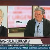Elie Cohen et Joachim Bitterlich, dans Le Grand Journal 3/4