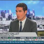 Matthieu Gallet, INA, dans L'Invité de BFM Business