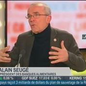 Alain Seugé, président des Banques Alimentaires, dans Le Grand Journal 1/4