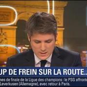 Le Soir BFM: la baisse de la vitesse à 70km/h sur le périphérique parisien 3/3