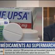 Le Soir BFM: les médicaments non remboursés: seront-ils vendus en supermarchés? 4/4