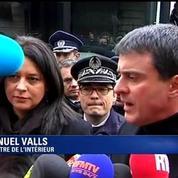 Sécurité renforcée pour les courses de Noël: Manuel Valls et Sylvia Pinel en visite aux grands magasins