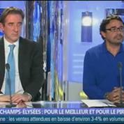 Champs Elysées: pour le meilleur et pour le pire ? dans Les décodeurs de l'éco 2/4