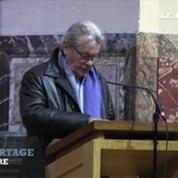 Mireille Darc et Alain Delon rendent hommage à Georges Lautner à l'église Saint Roch