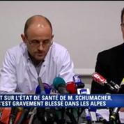 Coma artificiel et pronostic vital engagé pour Michael Schumacher