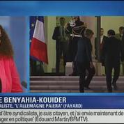 BFM Story: François Hollande reçoit Angela Merkel à l'Élysée
