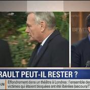 Le Soir BFM: Jean-Marc Ayrault peut-il rester? 3/4