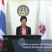 Thaïlande : la première ministre annonce la dissolution du Parlement