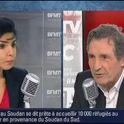 BFMTV Replay: lacement des pièces jaunes: Bernadette Chirac donne des nouvelles de son mari