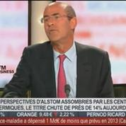 Patrick Kron, président directeur général d'Alstom, dans Le Grand Journal – 3/4