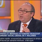 L'Éco du soir: la France peut-elle avoir une croissance supérieure à 1% dès 2014?