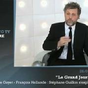 Zapping TV : Stéphane Guillon s'explique sur l'affaire Hollande-Gayet