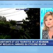 Cyclone Bejisa à La Réunion: On sent de très très grosses rafales -