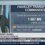 Faiveley Transport: baisse du chiffre d'affaires au T3: Thierry Barel, dans Intégrale Bourse –