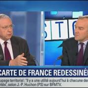BFM Story: Hollande envisage de redessiner la France