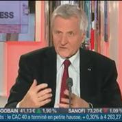 Jean-Claude Trichet et Jacques Attali, dans Le Grand Journal 3/4