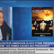 """BFM Story: Oliver Stone présente son livre """"Les crimes cachés des présidents"""""""