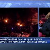 A Kiev, la confusion règne dans les rues après les annonces du gouvernement