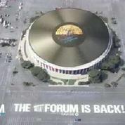 Le plus grand disque vinyle du monde installé à Los Angeles