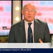 Michel Sapin, ministre du Travail et de l'Emploi, dans Le Grand Journal – 3/4