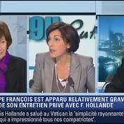 Michèle Cotta et Serge Raffy: le face à face de Ruth Elkrief –