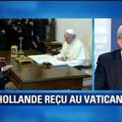 Bernard Debré n'attendait pas une absolution du pape adressée à François Hollande